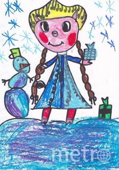"""Смирнова Арина, 6 лет. Фото Наталья Смирнова., """"Metro"""""""