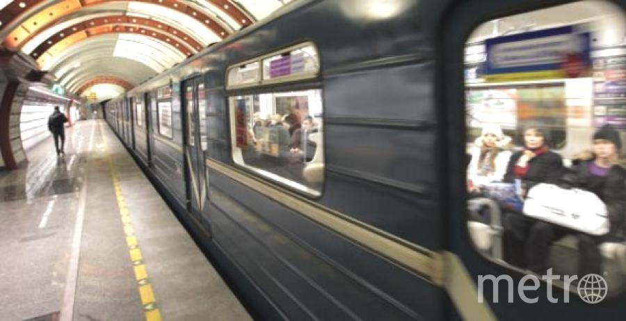 """Съездить на Дворцовую в новогодюю ночь можно будет на метро. Фото """"Metro"""""""