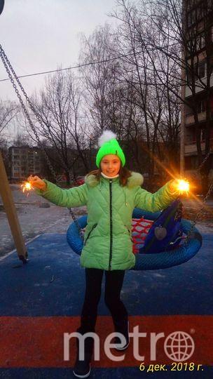 """Вероника Бисенкова, 9 лет. Фото """"Metro"""""""