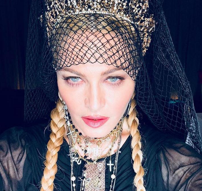 Мадонна, фотоархив. Фото скриншот www.instagram.com/madonna/
