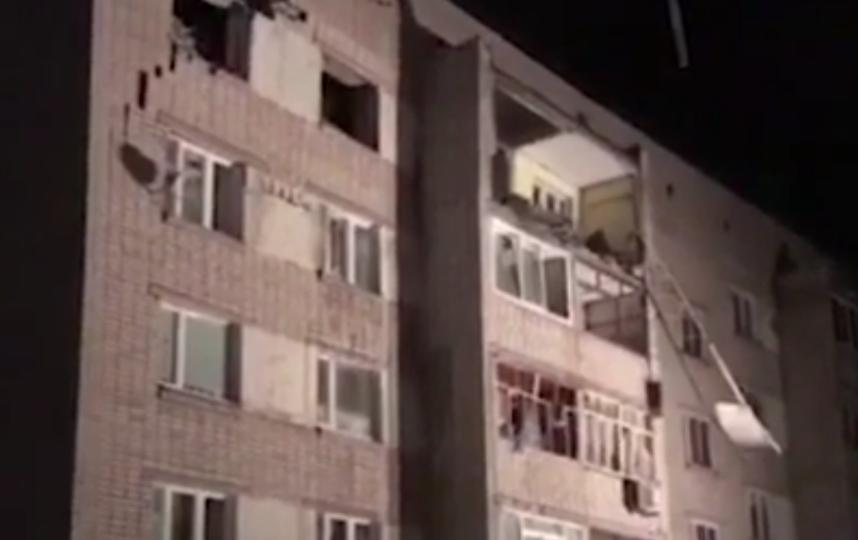 Взрыв газа в Вологде: один погиб, есть пострадавшие, введен режим ЧС. Фото скриншот видео