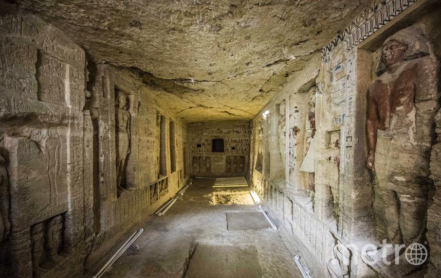 Длина гробницы - 10 метров. Фото AFP