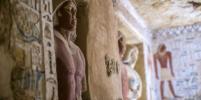 В Египте обнаружили неразграбленную гробницу