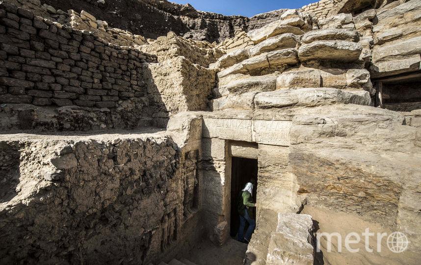 Вход в гробницу. Фото AFP