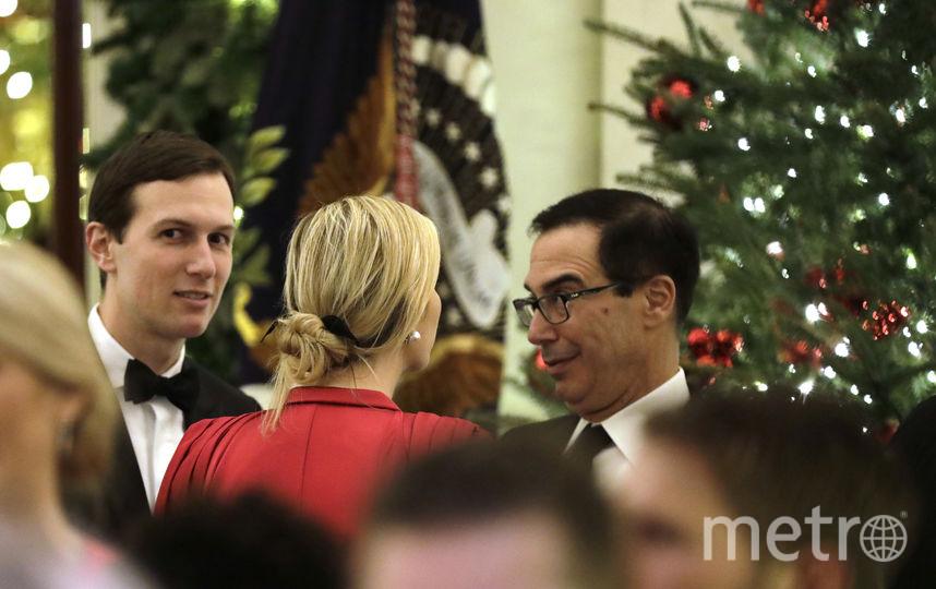 Иванка Трамп и её супруг Джаред Кушнер (слева). Фото Getty