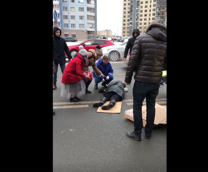 В ДТП в Красносельском районе пострадали дети. Фото www.vk.com/spb_today