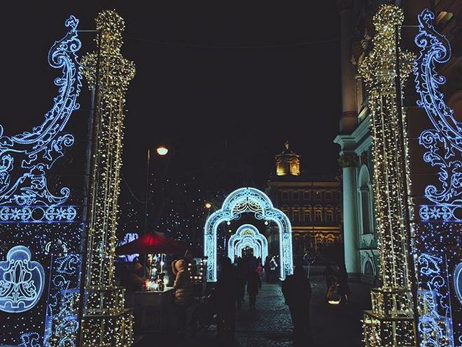 Петербург. Фото скриншот www.instagram.com/kate_obukhovich/