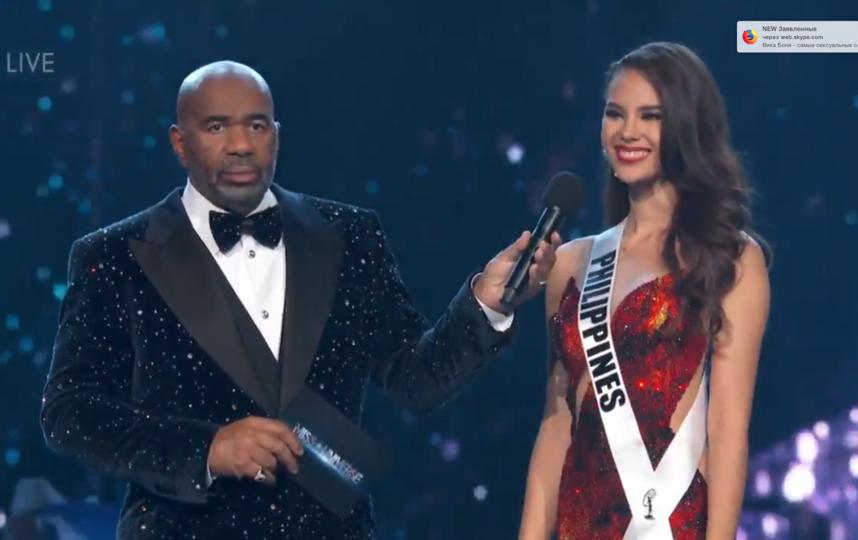 Мисс Вселенная-2018 Катриона Грэй. Фото Скриншот Youtube