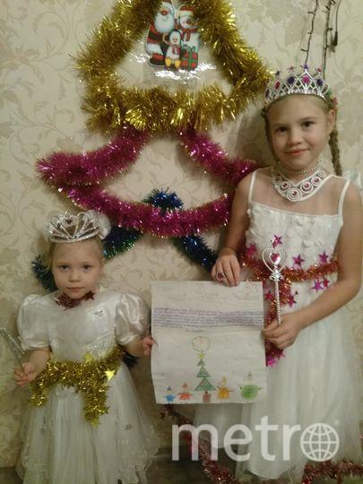 """Маскаевы Ева и Елизавета. Фото """"Metro"""""""