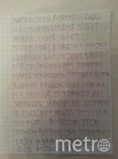 "Богданец Марк, 6 лет. Фото Богданец Дарья Владимировна , ""Metro"""