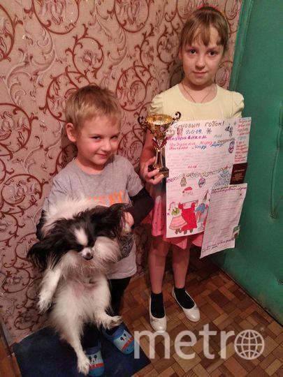 """Мне 10 лет, а братику 7 лет. Меня зовут Настя, а братика - Андрей. Фото Анна Тонковская, """"Metro"""""""