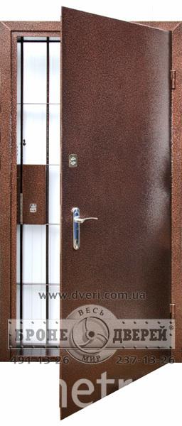 Металлическая дверь банковская. Фото dveri.com.ua