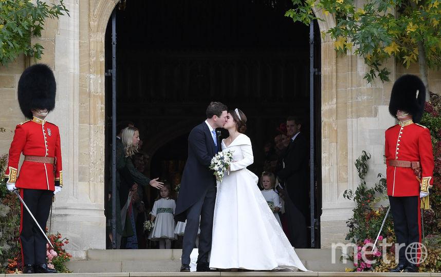 Джек Бруксбэнк и принцесса Евгения. Фото Getty