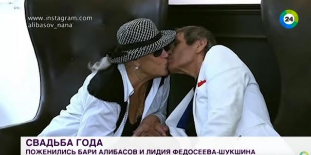 Бари Алибасов и Лидия Федосеева-Шукшина.
