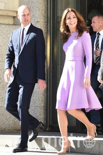 Кейт Миддлтон с супругом. Фото Getty