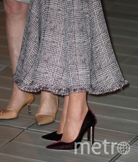 Герцогиня периодически выходила в свет на каблуках. Фото Getty