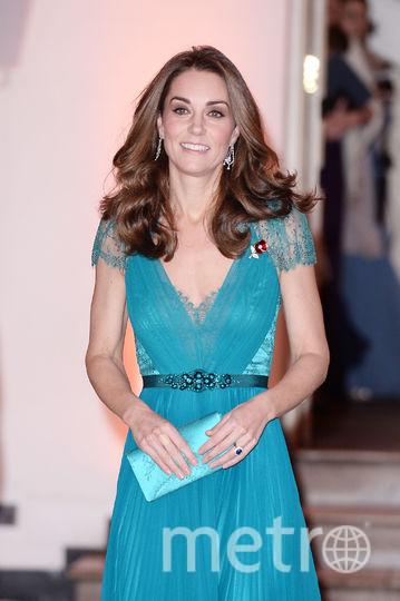 Кейт Миддлтон в откровенном платье. Фото Getty