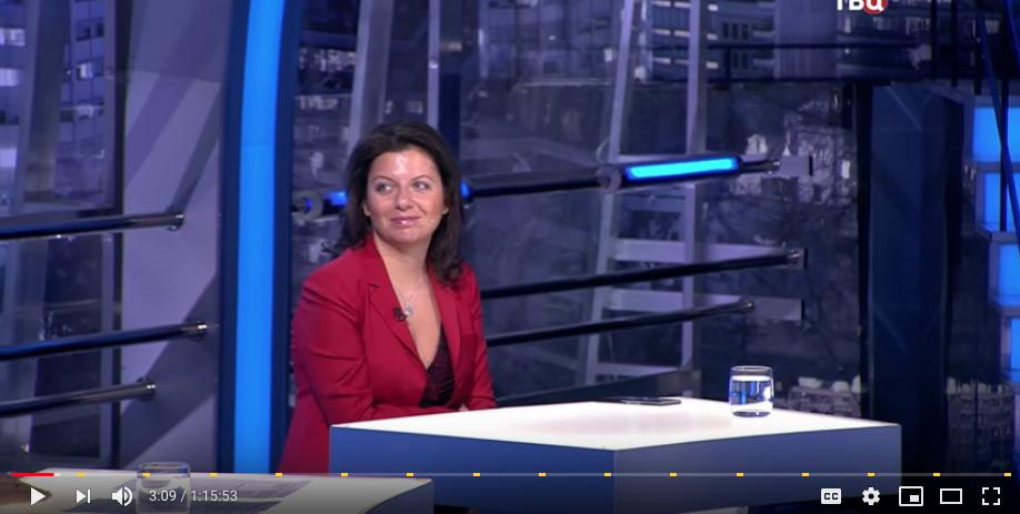 Маргарита Симоньян. Фото Скриншот Youtube