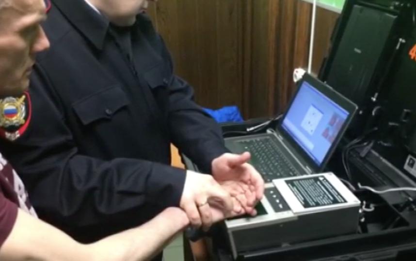 Подозреваемый. Фото предоставлено пресс-службой УВД на Московском метрополитене