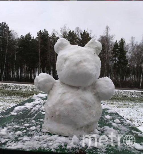 "Instagram-снеговики. Фото https://www.instagram.com/azerbaba_tyan/, ""Metro"""