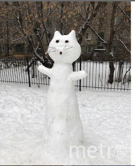 "Instagram-снеговики. Фото https://www.instagram.com/nadezhda_roit/, ""Metro"""