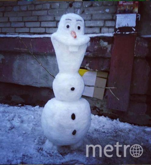 "Instagram-снеговики. Фото https://www.instagram.com/rybnitsa_nice_city/, ""Metro"""