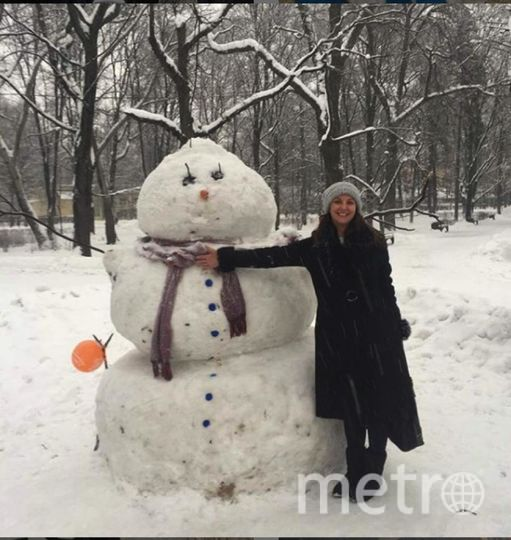 """Instagram-снеговики. Фото https://www.instagram.com/natabikkinyaeva/, """"Metro"""""""
