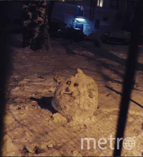 """Instagram-снеговики. Фото https://www.instagram.com/bulyonova/, """"Metro"""""""