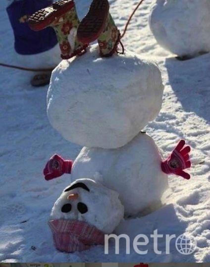 """Instagram-снеговики. Фото https://www.instagram.com/mg_raisat/, """"Metro"""""""