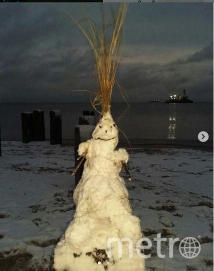 """Instagram-снеговики. Фото https://www.instagram.com/uylia_sha/, """"Metro"""""""