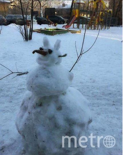 "Instagram-снеговики. Фото https://www.instagram.com/svotlana_univorsal/, ""Metro"""