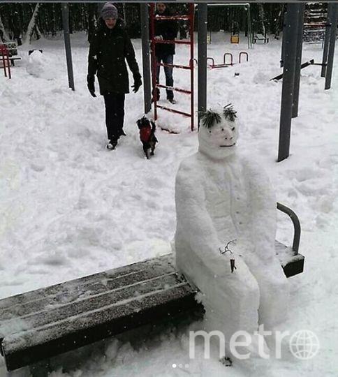"Instagram-снеговики. Фото https://www.instagram.com/nemiroman/, ""Metro"""