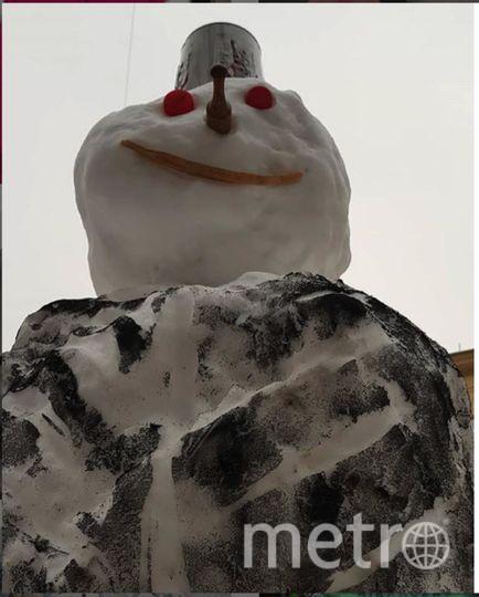 """Instagram-снеговики. Фото https://www.instagram.com/gr1shanya_/, """"Metro"""""""