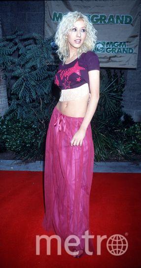 Кристина Агилера в молодости. Фото Getty