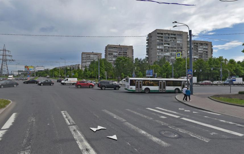 Проспект Маршалла Блюхера. Фото Яндекс.Панорамы