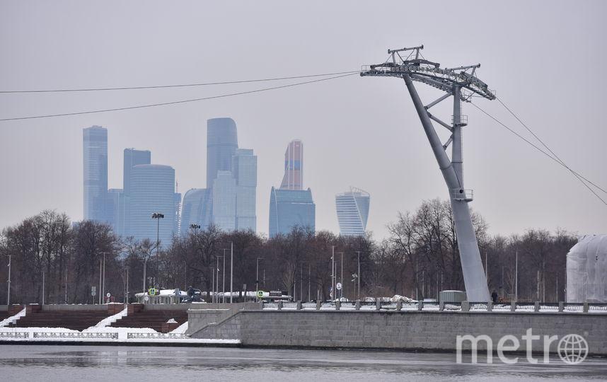"""""""Москва-Сити"""". Фото Василий Кузьмичёнок"""