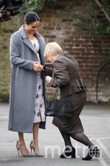 Меган Маркл встретили в доме для пожилых людей. Фото Getty