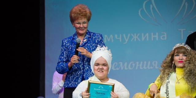Конкурсантка Регина Иванова.