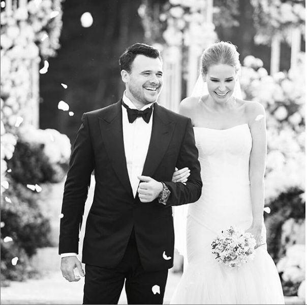 Эмин Агаларов и Алёна Гаврилова. Фото instagram.com/agavrilova777/?hl=ru