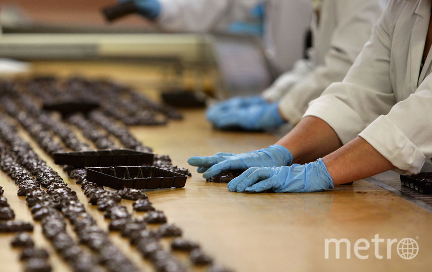 Шоколадные конфеты. Фото Getty