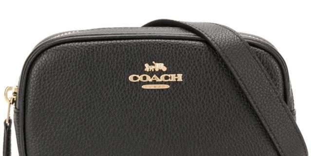 Сумка на пояс Coach.