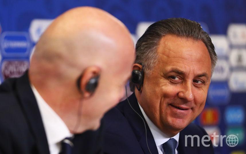Вице-премьер Российской Федерации Виталий Мутко. Фото Getty