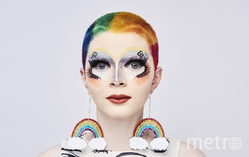 Сула Мичи во время портретной сессии в Pride In London 2018. Фото Getty