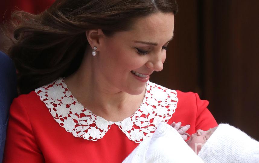 Супруга принца Уильяма Кейт Миддлтон стала мамой в третий раз. Фото Getty