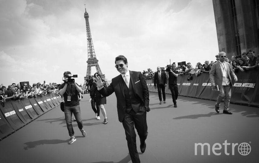 Том Круз на мировой премьере фильма «Миссия невыполнима - Fallout» в Париже.. Фото Getty