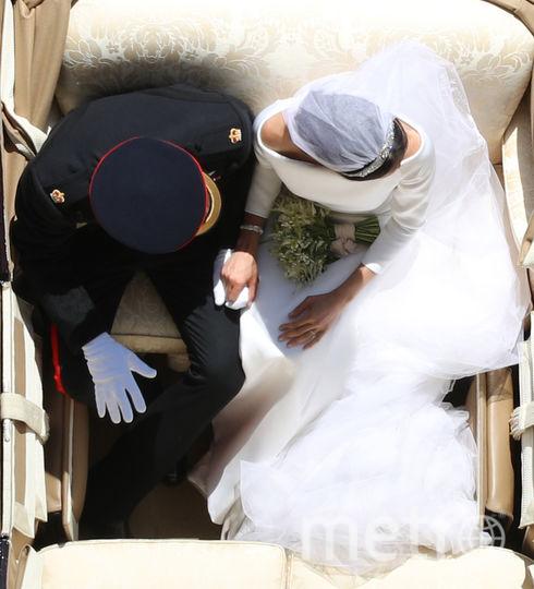 Принц Гарри и Меган Маркл - свадьба. Фото Getty