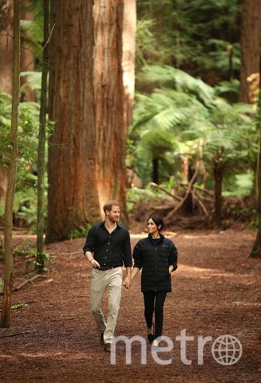 Принц Гарри и Меган Маркл в первом официальном туре. Фото Getty