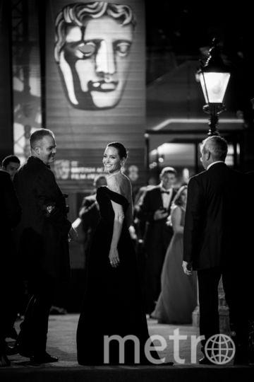 Анджелина Джоли принимает участие в церемонии вручения премии Британской академии кино (BAFTA).. Фото Getty