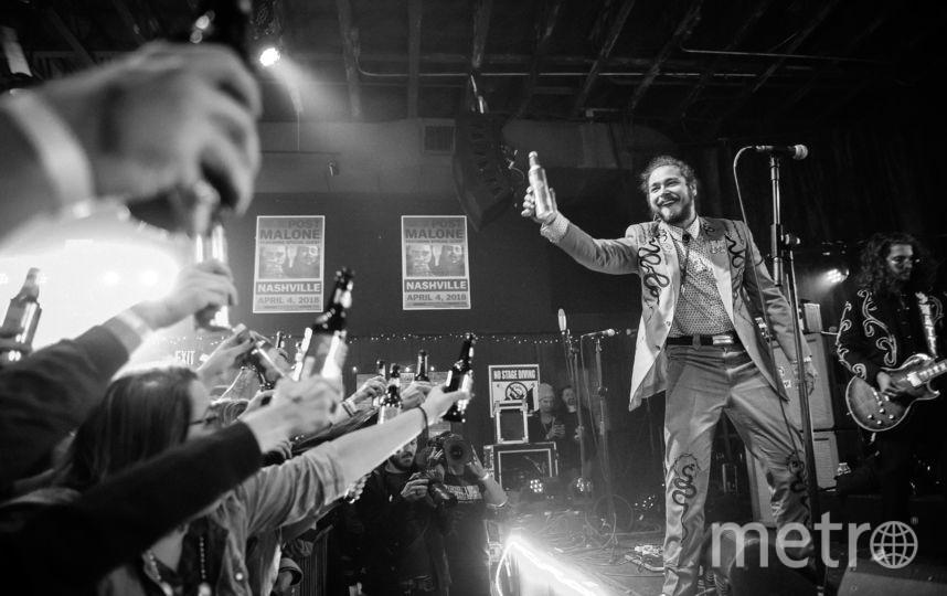 Пост Мэлоун выступает в Нэшвилле. Фото Getty