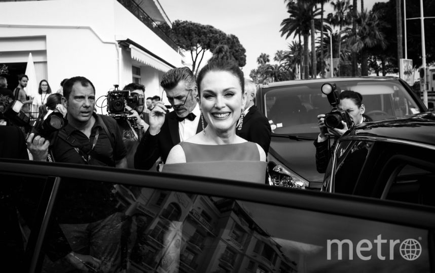 Джулиана Мур на кинофестивале в Каннах. Фото Getty